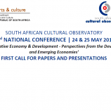 SACO's second National Conference : first call for papers and presentations